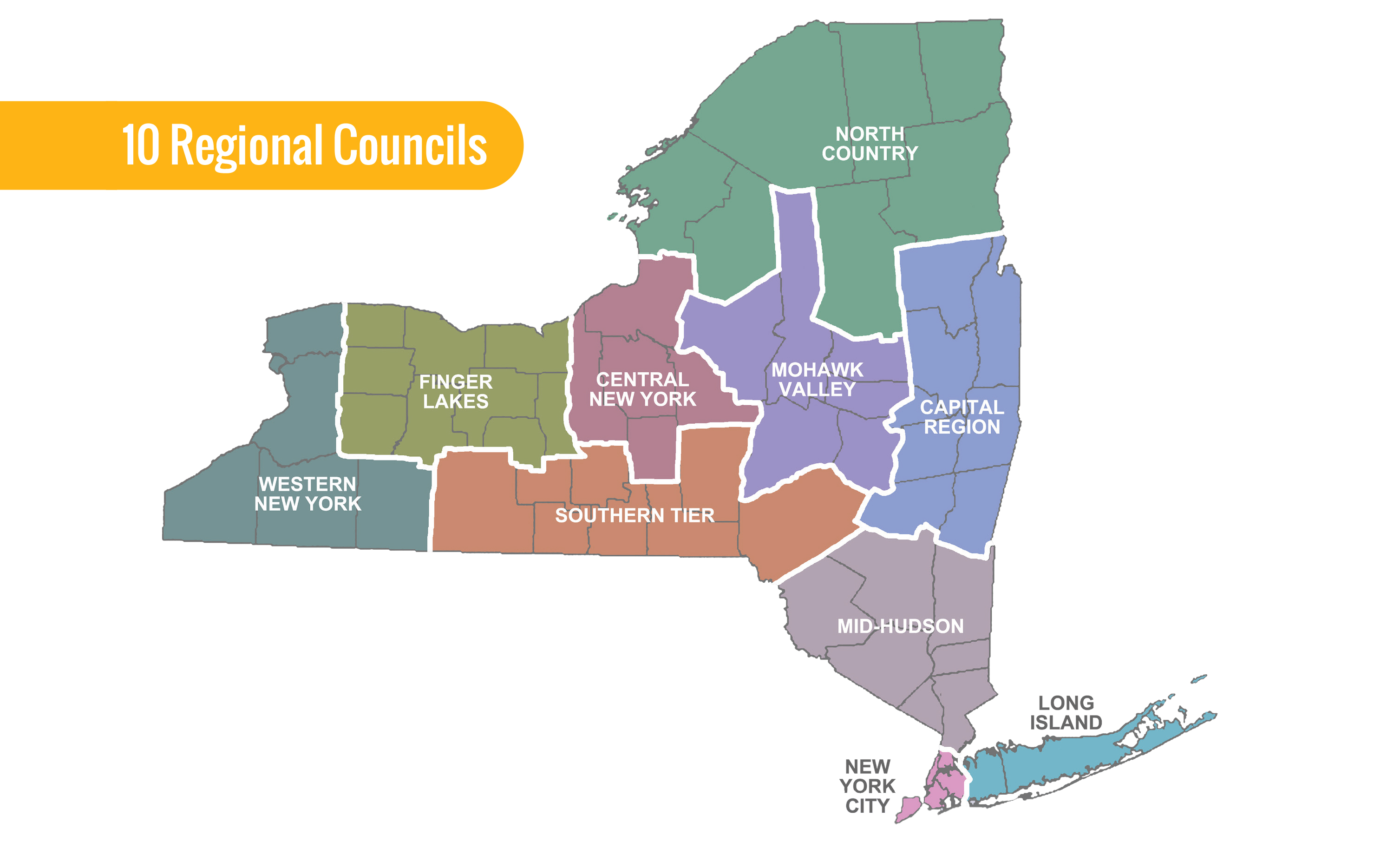 City Map Of New York State.New York State Regional Economic Development Initiative Arts Nys